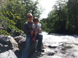River next to Los Pozones Hot Springs