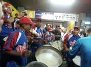 Drumline plus conch shell.