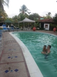 Pool at the posada