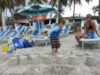 13 sand castles