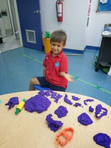 G and Playdoh