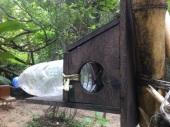 Cool little bird house.